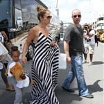 Jennifer Lopez arrives in Miami with her kids and Casper Smart  124605