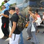 Jennifer Lopez arrives in Miami with her kids and Casper Smart  124612