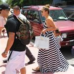 Jennifer Lopez arrives in Miami with her kids and Casper Smart  124615