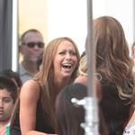Jennifer Love Hewitt seen at The Grove to appear on Extra 113388