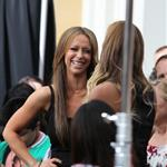 Jennifer Love Hewitt seen at The Grove to appear on Extra 113391