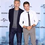 Jeremy Renner and Tony Gilroy at The Bourne Legacy photocall in Berlin 125078