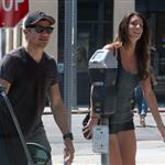 Jeremy Renner out in Los Angeles with a mystery girl 124790