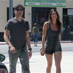 Jeremy Renner out in Los Angeles with a mystery girl 124796