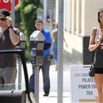 Jeremy Renner out in Los Angeles with a mystery girl 124812