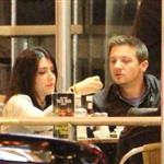 Jeremy Renner eating at Mel's Diner in Los Angeles 110653