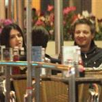 Jeremy Renner eating at Mel's Diner in Los Angeles 110657