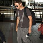 Jeremy Renner at LAX to catch a flight 123945