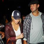 Jessica Simpson and Tony Romo at Game 1 of NBA Finals at Staples Centre 40520