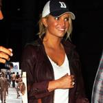 Jessica Simpson and Tony Romo at Game 1 of NBA Finals at Staples Centre 40523