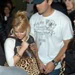 Jessica Simpson Tony Romo leaving Villa 17987