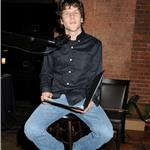 Jesse Eisenberg reads at fundraiser for Alliance for Young Artists and Writers in New York  81137