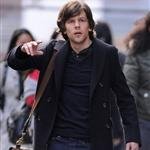 Jesse Eisenberg on the set of Now You See Me 109574