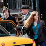 Isla Fisher, Woody Harrelson and Jesse Eisenberg on location for Now You See Me 109578