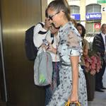 Jessica Alba arrives at her hotel after her appearance on ABC's The View 121728