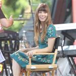 Jessica Biel appears on Good Morning America  122775