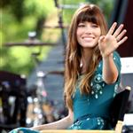 Jessica Biel appears on Good Morning America  122777