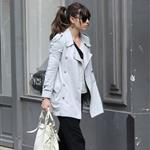 Jessica Biel goes shopping for a wedding dress in Paris 110720