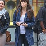 Jessica Biel walks with a friend in SoHo 114167