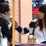 Jessica Biel has lunch with a friend in SoHo 114174