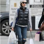 Jessica Biel shopping in New York 100611