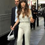 Jessica Biel arriving at the ITV studios in London 123546