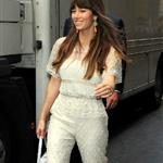 Jessica Biel arriving at the ITV studios in London 123548