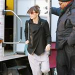 Jessica Biel visits Justin Timberlake on the set of his new movie in New York 107046