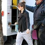 Jessica Biel visits Justin Timberlake on the set of his new movie in New York 107049