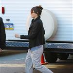 Jessica Biel visits Justin Timberlake on the set of his new movie in New York 107051