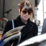 Jessica Biel visits Justin Timberlake on the set of his new movie in New York 107056