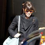 Jessica Biel visits Justin Timberlake on the set of his new movie in New York 107059