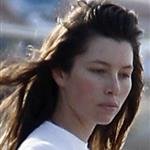 Jessica Biel on the beach in Puerto Rico  118494