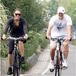 Jessica Biel and Justin Timberlake go biking in New York  65962