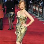 Jessica Chastain at UK premiere of The Debt 94845