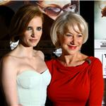 Jessica Chastain and Helen Mirren at The Debt New York Screening  92558