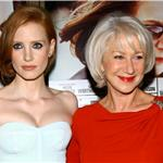 Jessica Chastain and Helen Mirren at The Debt New York Screening  92560