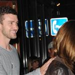 Justin Timberlake and Jessica Biel leaving the Comedy Club in West Hollywood. July 2008 99128