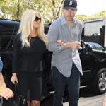 Jessica Simpson and Eric Johnson out in New York following the taping of her interview with Katie Couric    125556