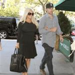 Jessica Simpson and Eric Johnson out in New York following the taping of her interview with Katie Couric    125559