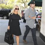 Jessica Simpson and Eric Johnson out in New York following the taping of her interview with Katie Couric    125560