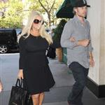 Jessica Simpson and Eric Johnson out in New York following the taping of her interview with Katie Couric    125561