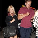 Jessica Simpson and fiancé Eric Johnson go to Adele concert 91987