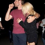 Jessica Simpson and fiancé Eric Johnson go to Adele concert 91989