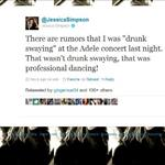 Jessica Simpson tweets she wasn't drunk she was professional dancing 92071