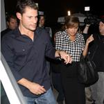 Jessica Simpson Eric Johnson run into Nick Lachey Vanessa Minnillo at dinner 71440
