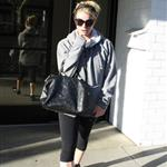 Jessica Simpson goes to the gym at Tracy Anderson to prepare for wedding  79764