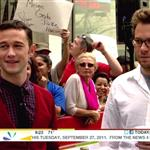 Joseph Gordon-Levitt and Seth Rogen on the Today Show 95225
