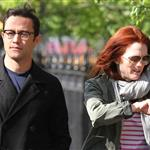 Joseph Gordon-Levitt and Julianne Moore spotted strolling around West Village after having a business lunch 113036