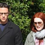 Joseph Gordon-Levitt and Julianne Moore spotted strolling around West Village after having a business lunch 113038